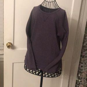Lululemon long sleeve sweat shirt LST 8-22
